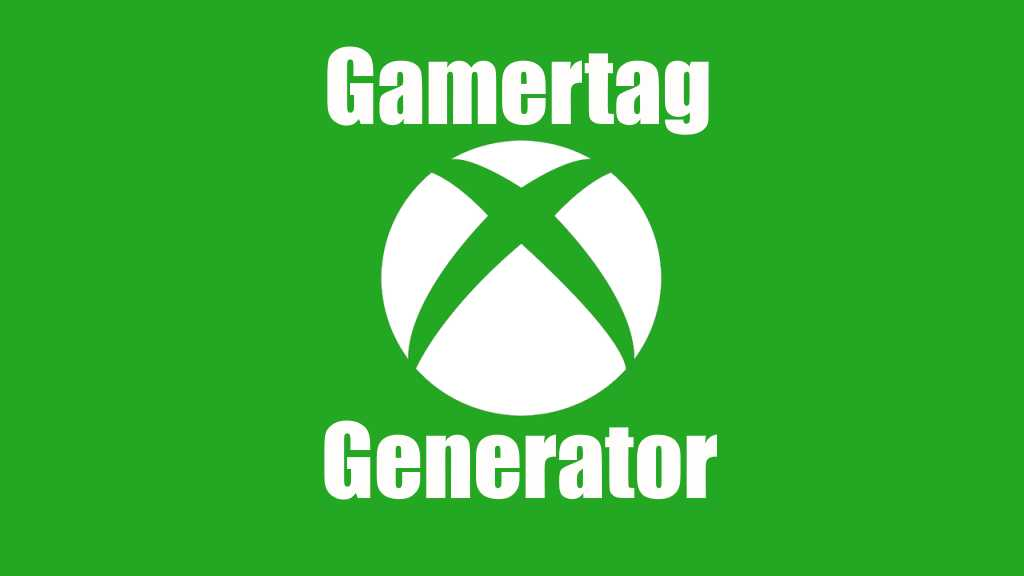 Xbox Gamertag Generator Image