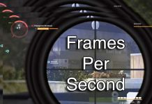 frames per second