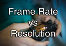Frame rate vs resolution