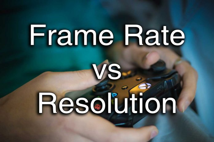 resolution vs frame rate