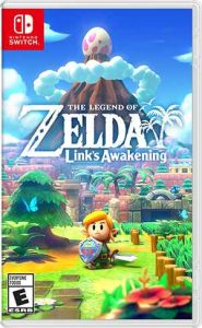 The Legend of Zelda: Links Awakening Box Art