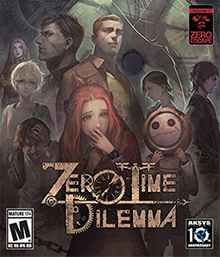 Zero Escape: Zero Time Dilemma Box Art