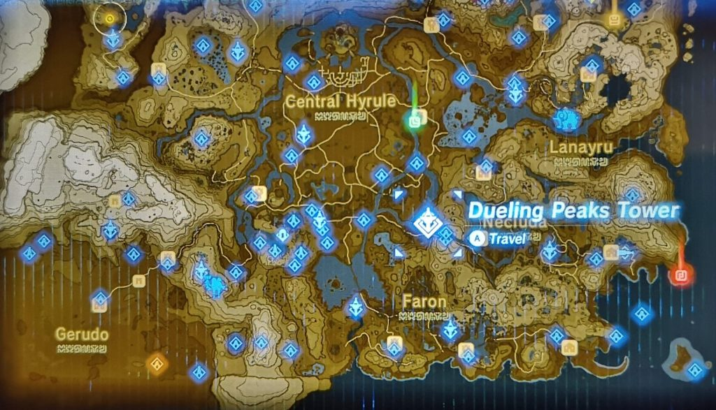 where to find dueling peaks