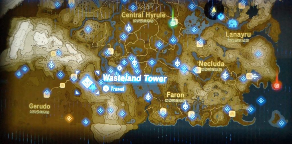 Wasteland Tower location