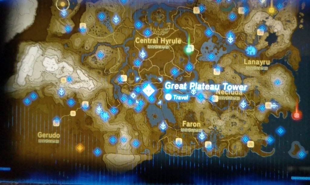 Great Plateau tower location