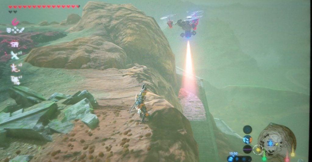 flying guardian at Akkala Tower
