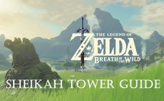 Breath of the Wild Sheikah Tower Guide Image