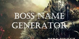 Dark Souls Boss Name Generator