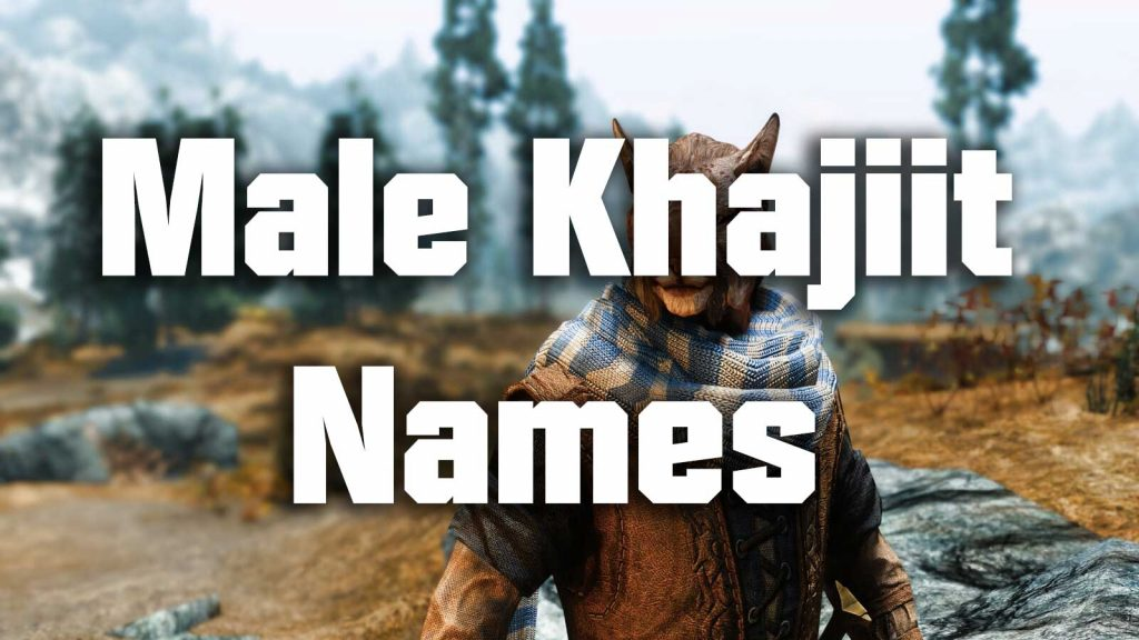 male khajiit names
