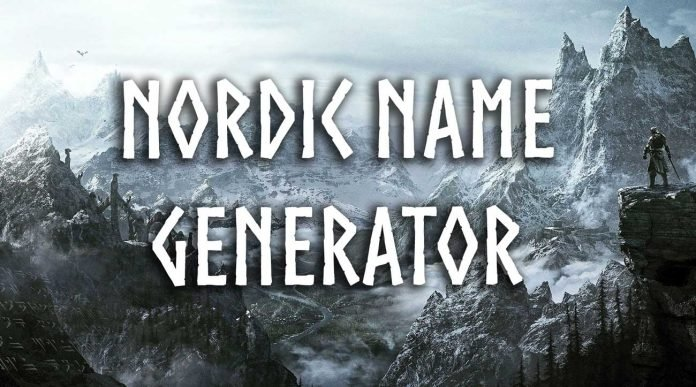 Norse Name Generator
