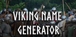 Viking Name Generator