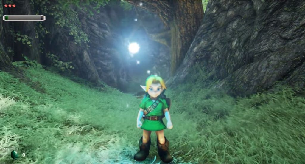 The Lost Woods remade in unreal engine
