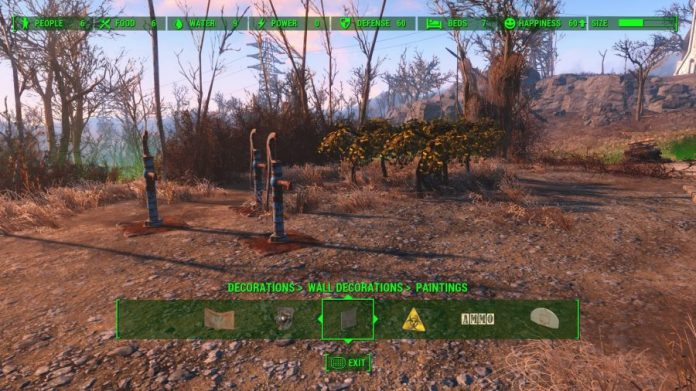 fallout settlement 100 happiness