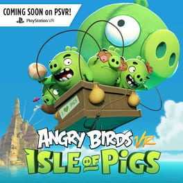Angry Birds VR: Isle of Pigs Boxart