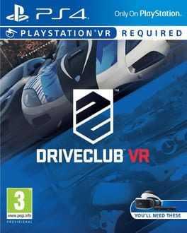 DriveClub VR Boxart