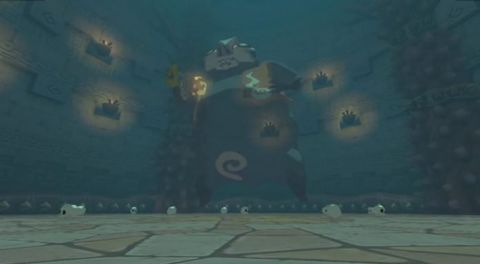 wind waker earth temple boss