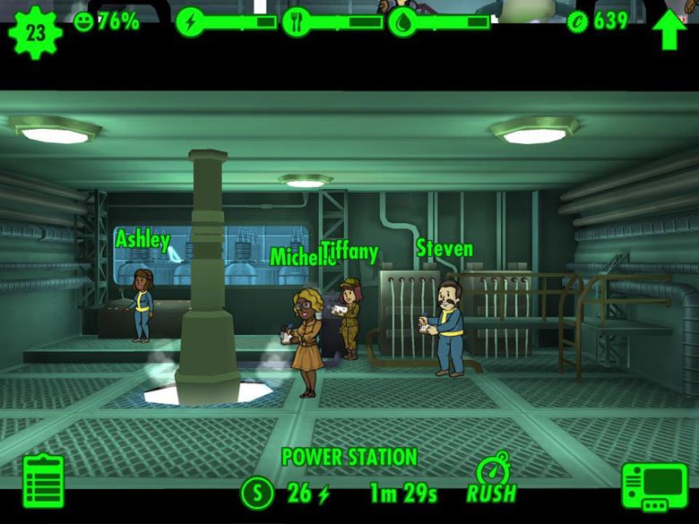 Fallout Shelter workers