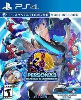 Persona 3: Dancing in Moonlight Boxart
