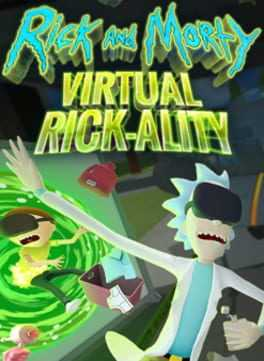 Rick and Morty: Virtual Rick-ality Boxart