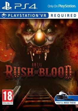 Until Dawn: Rush of Blood Boxart