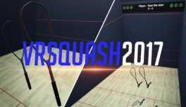 VR Squash 2017 Boxart