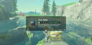Zora's Helmet Location