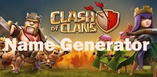 Name Generator For Clash of Clans
