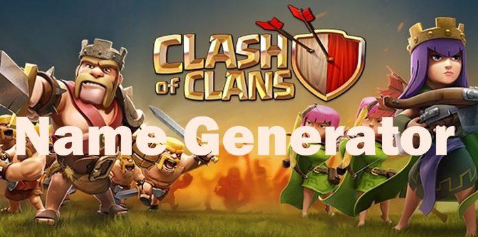 Clash of clans name generator