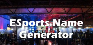 ESports Team Name Generator