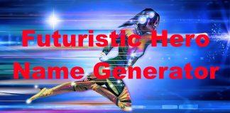Futuristic Hero Name Generator