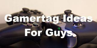 Gamertag Ideas For Guys
