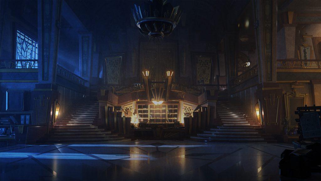 Luigi's Mansion Hotel Lobby