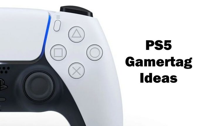 Gamertag Ideas For PS5