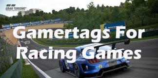 Gamertag Ideas for Racing Games