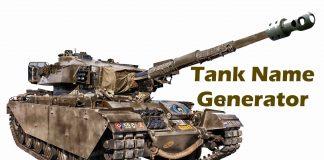 Tank Name Generator
