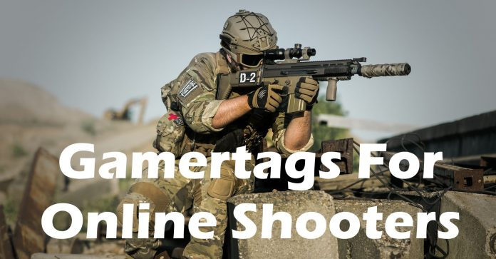 Gamertags for online shooters