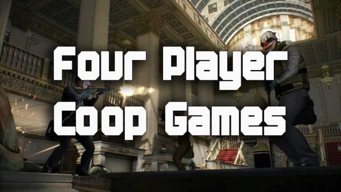 games that support 4 player coop