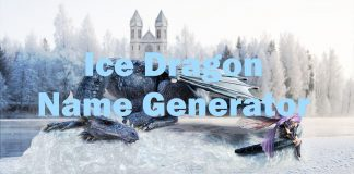 Ice Dragon Name Generator