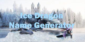 Ice Dragon Name Generator