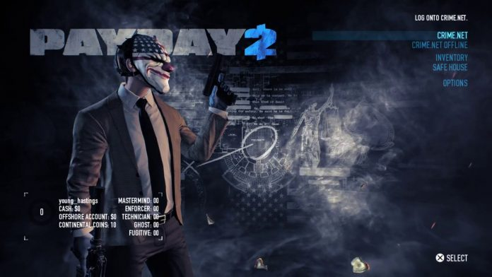 Play With Friends In Payday 2