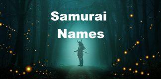 Samurai Name Generator