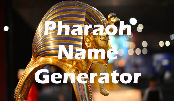 Pharaoh Name Generator