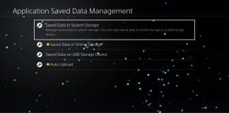 Managing Save Game Data On PS4