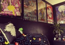 game room artwork