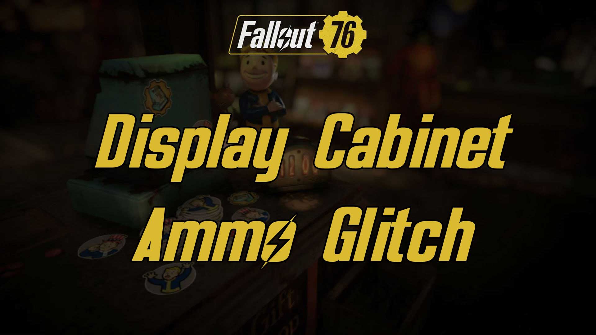 display case glitch