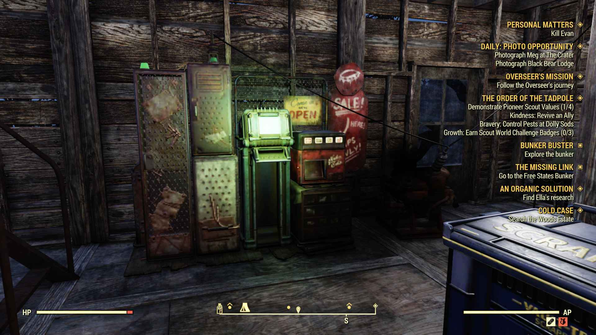 player vending machines