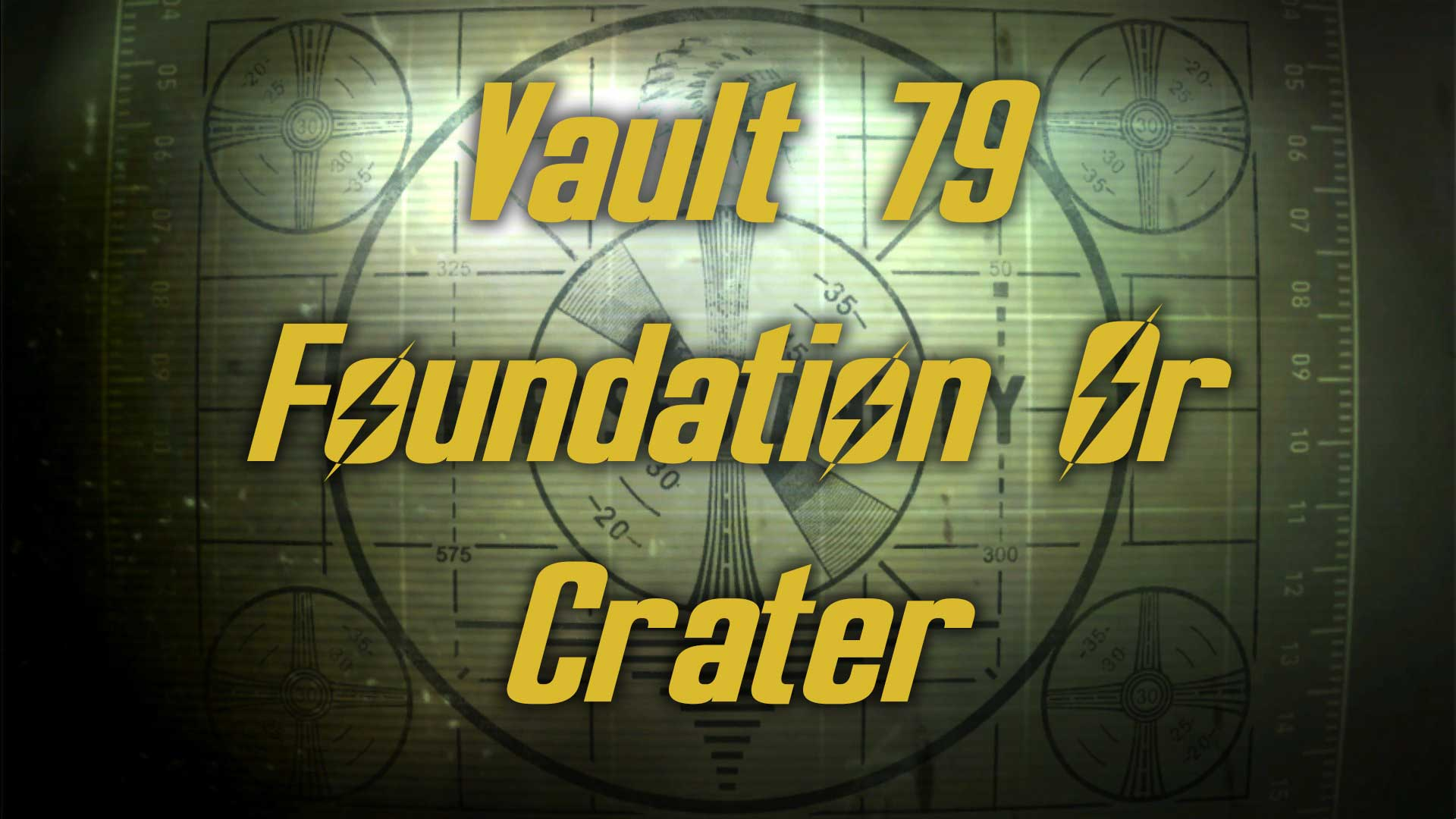 Vault 79 - Side With Foundation Or Crater? Image