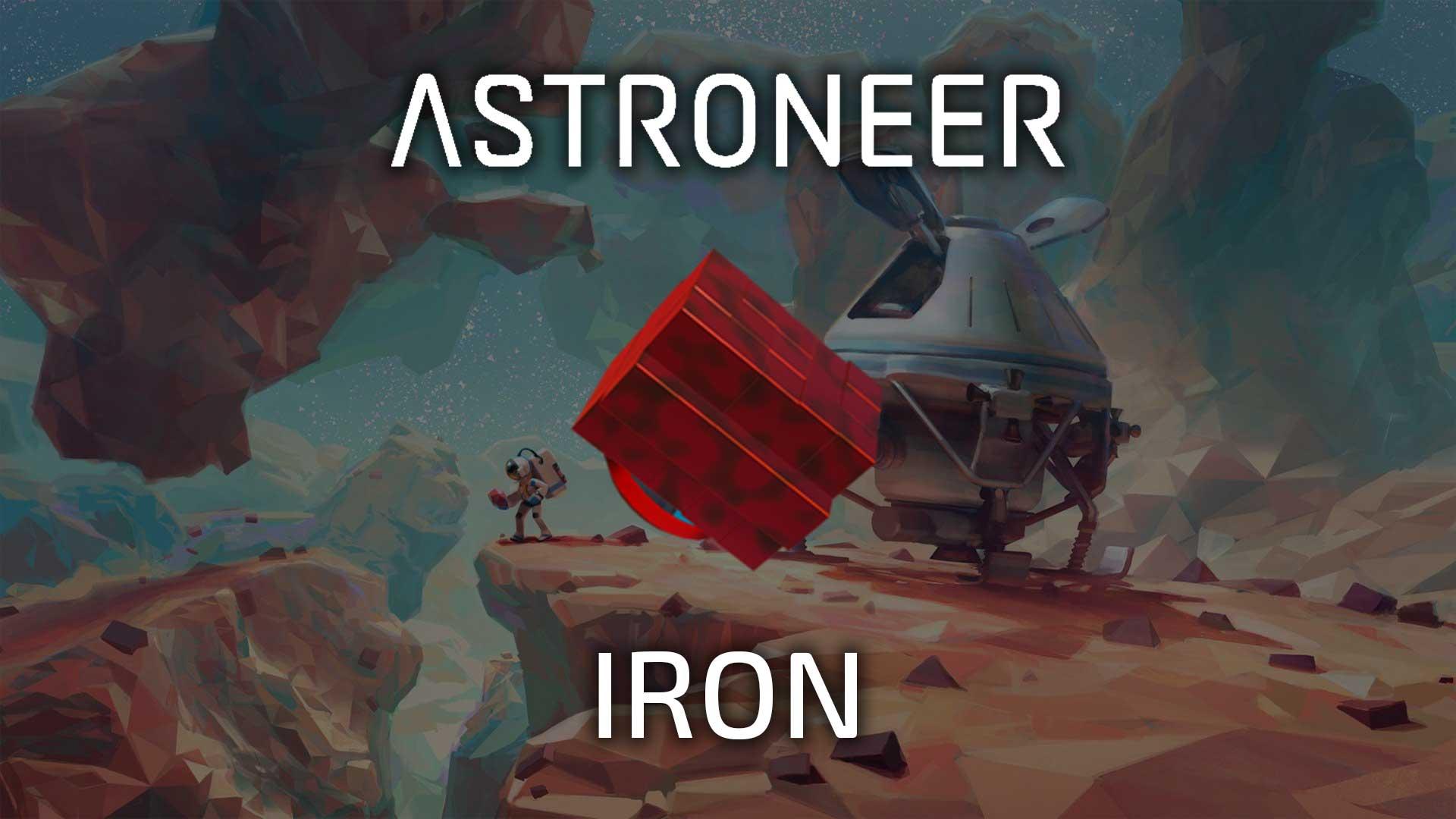 astroneer iron