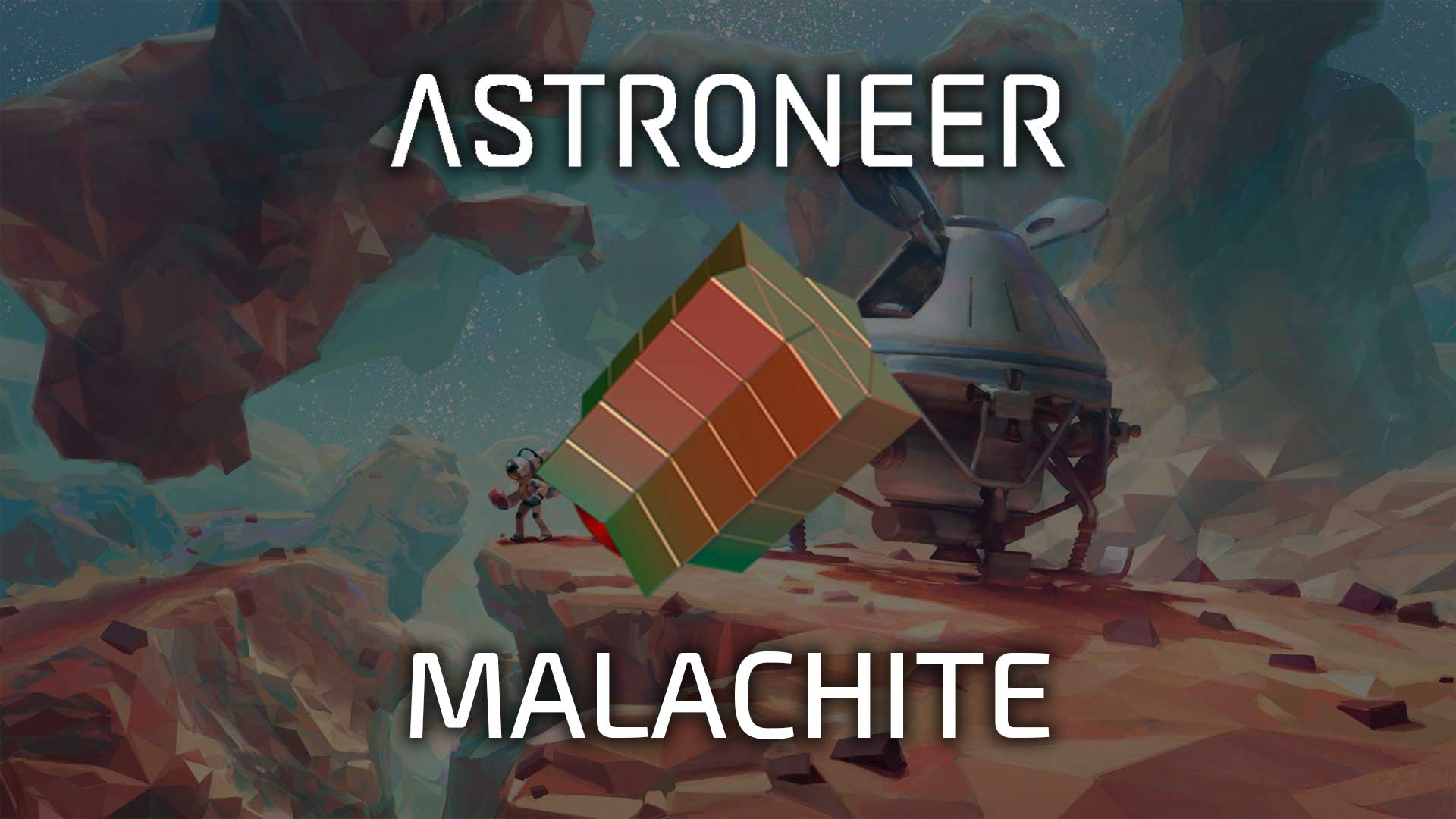 Astroneer Malachite