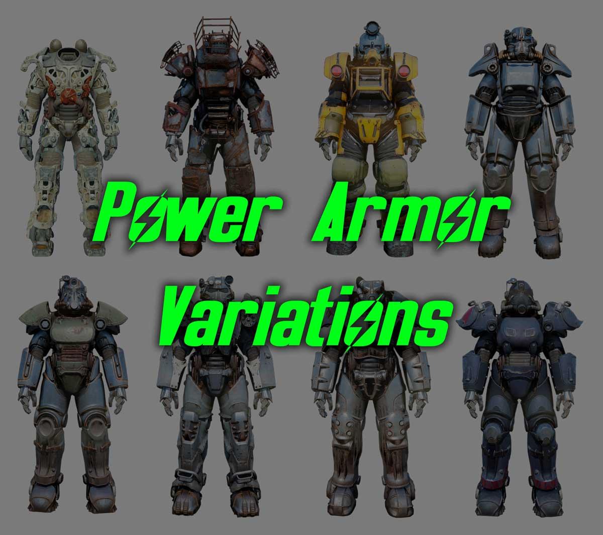 power armor variations